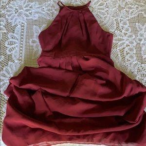 Weddington Way burgundy formal gown